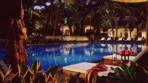 Outdoor pool at the Four Seasons Bangkok.