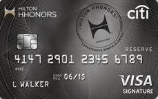 Citi Hilton HHonors Reserve Visa Signature