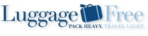 The main benefit of Luggage Free is that they price per pound and offer several delivery speeds.