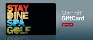 Marriott GiftCards / eGiftCards can be used for stays, dining, spa, golf and more.