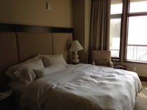 Bedroom featuring Westin's signature Heavenly area.