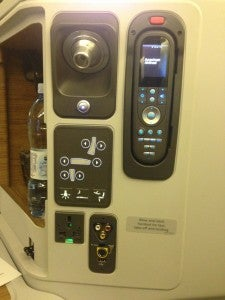 Comfort controls and entertainment remote