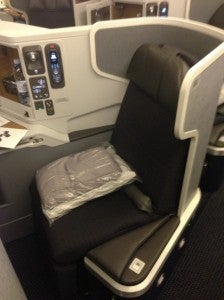 American Exec Plat Systemwide Upgrades like the one I used to get this business class seat on the new 777-300ER can be super valuable.