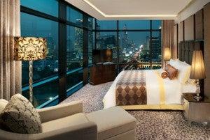 Caroline Astor Suite at the St. Regis Bangkok.