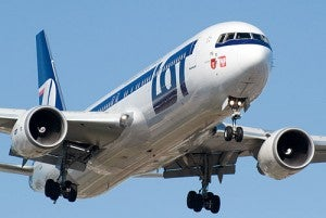LOT Polish Airlines has the largest presence at Warsaw.