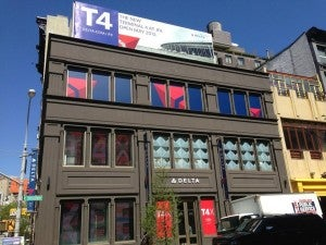 The Delta T4x shop is on W. Broadway and Broome St. in SoHo.