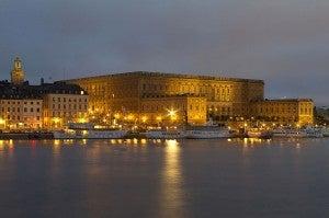Stockholm Palace.