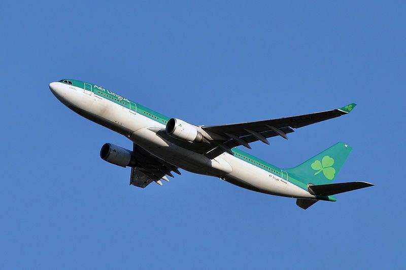 flight review aer lingus business class new york jfk dub