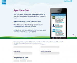 Sync your Amex card for savings at tons of merchants.