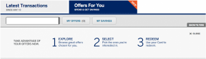 """Click on the """"Offers For You"""" tab in your Amex account to get the Uber discount."""