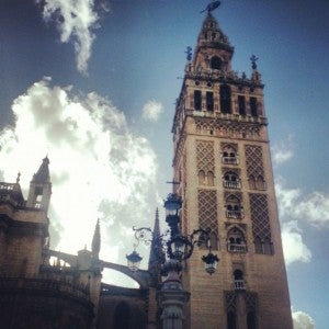 La Giralda Tower.