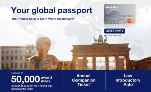 The Barclaycard Lufthansa Miles & More Premier World Mastercard 50,000 mile sign up offer ends June 30, 2013.