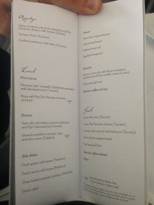 The menu had some authentic Tuscan dishes to offer like an appetizer of Tomato Mush.