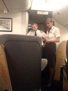 I have flown with Madonna in British Airways First Class from JFK-LHR.