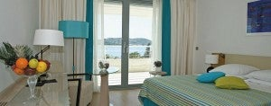Standard king room at the Radisson Blu Resort & Spa, Dubrovnik Sun Gardens.
