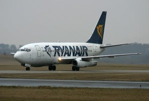 RyanAir has a large presence at Edinburgh Airport.