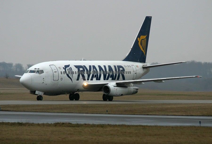 RyanAir has a large presence at Edinburgh Airport.