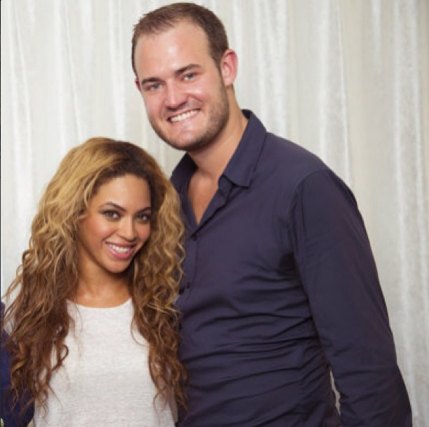 One of my absolute highlights was meeting Beyonce in Milan.