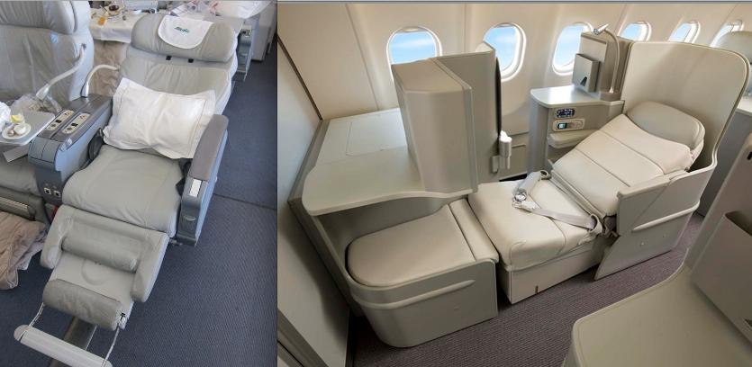 Flight Review Alitalia A330 New Magnifica Business Class