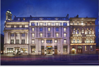 The Westin Dublin is a Starwood property and can be booked for 12,000 points a night.