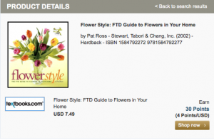 Get bonuses of up to 30 miles per dollar at FTD this mother's day.