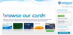 Barclaycard has started fielding an impressive array of cards.