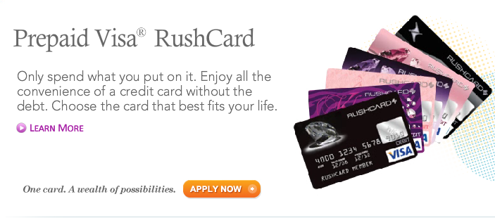 ruschard doesn - Reloadable Prepaid Debit Card