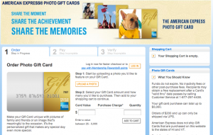 Buy a photo gift card and get the card fees waived now through August 31.