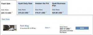 Hyatt Asia Pacific Sale