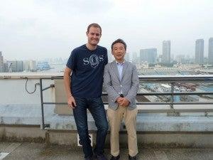 My awesome Tsukiji guide Naota-san