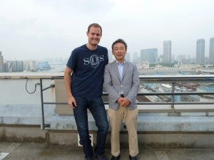 My awesome Tsukiji guide Naota-san