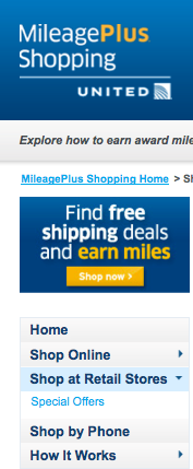In Store Points And Miles Bonuses Through Online Shopping Portals