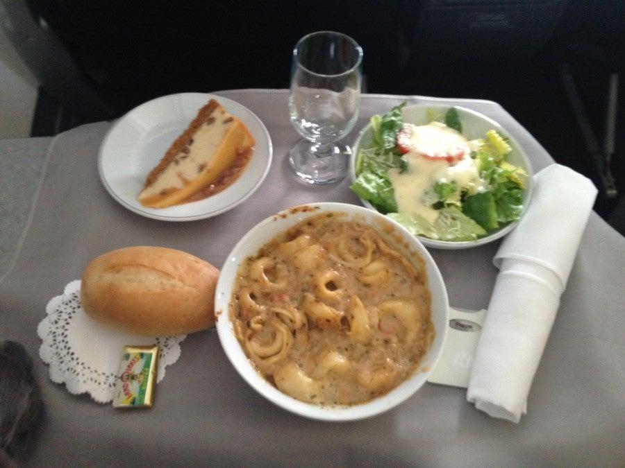 Combined 2020 AA International Meal / Meals - menu