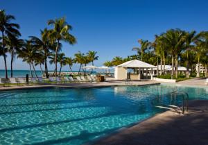 The gorgeous pool area at Casa Marina.