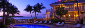 The Hyatt Key West Resort & Spa offers luxurious oceanfront accommodations on the northern edge of the island.