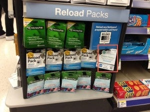 Reload packs come on racks like this at thousands of retailers nationwide.