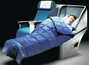Aer Lingus's business class isn't top-notch but it'll do for a quick flight.