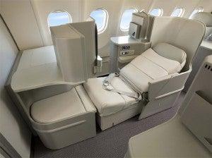Alitalia's new Magnifica Business Class