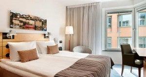 The Hilton Stockholm Slussen Hotel features