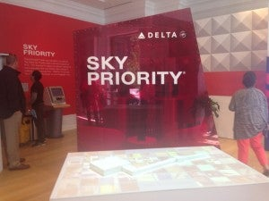 Sky Priority Check-In.
