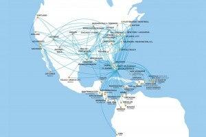 Spirit Route Map