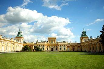 Take a stroll through the gardens at the Wilanów Palace.