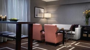 SPG Platinum members and club level guests have access to the Club Lounge at the Sheraton Stockholm.