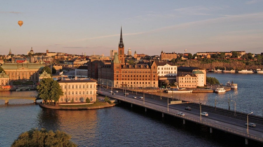 Overview of Stockholm.
