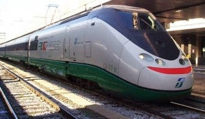 The fast train from Rome to Florence should take me just 90 minutes.