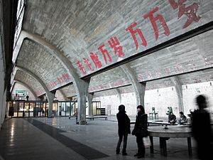 Check out Beijing's evolving arts scene at District 798.