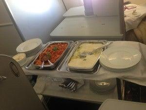Alitalia's flight attendants