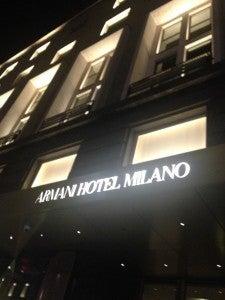 The Armani Hotel Milano on Via