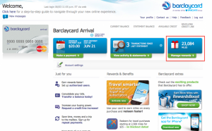 Arrival homepage