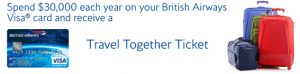 "The British Airways ""Travel Together"" companion ticket is a great way to hit the skies with your father by your side."